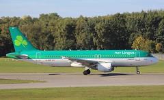 Aer Lingus, EI-DEP, MSN 2542, Airbus A 320-214, 25.09.2018,  HAM-EDDH, Hamburg (Named: st. eugene) (henryk.konrad) Tags: aerlingus eidep msn2542 airbus a320214 hamburg hameddh henrykkonrad steugene