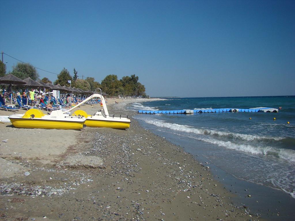 фото: Пляж отеля Poseidon Palace