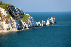 The Needles, Isle of Wight (iwys) Tags: the needles isle wight chalk cliffs island stacks scenery coastal channel english landscape lighthouse blue sky top ten places visit england
