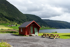 Sogndal - Norway (Melvin Debono) Tags: sogndal is municipality sogn og fjordane county norway it located northern shore sognefjorden traditional district melvin debono photography travel sogndalsfjora bøen flower flowers mountain grass sky tree