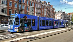 Commercial break 5 (Peter ( phonepics only) Eijkman) Tags: amsterdam city combino gvb tram transport trams tramtracks trolley rail rails advertise advertising reclame strassenbahn streetcars nederland netherlands nederlandse noordholland holland