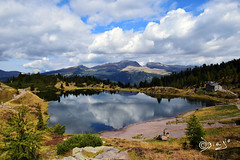 Con Te accanto!!! (Biagio ( Ricordi )) Tags: lagodicolbricon lago lake montagna nuvole italy rifugio malga trentino