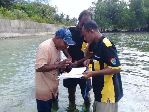 Pelatihan monitoring lamun Kabola 10