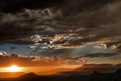 Good night America (rvjak) Tags: arizona sedona usa etatsunis united states sunset sun coucher soleil d750 nikon landscape paysage ciel sky clouds nuages orange