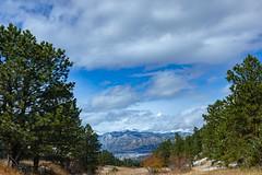 Rocky Mountains in the Distance (pboolkah) Tags: view landscape canon5dmkiv canon5d estes rockies rockymountain colorado canon aspen clouds snow peaks