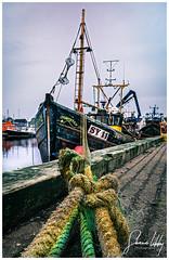 Calm after the Storm (ShaunXVII) Tags: fishing trawler boat mooring anchor harbour port stornoway isle lewis isleoflewis westernisles scotland scottishislands highlandsandislands storm callum moody