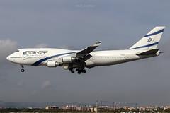 Boeing 747-458 4X-ELC El Al Israel (msd_aviation) Tags: el al israel boeing 747 b747 queen skies landing bcn lebl barcelona prat airport aviation aviation4u pic planespotting planes airplanes planespotters queenoftheskies