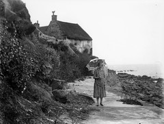 Photographic plates photos (foundin_a_attic) Tags: photo runswickbay northyorkshire lady palmer's cottage