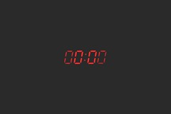 4k wallpaper clock dark - Credit to https://homegets.com/ (davidstewartgets) Tags: 4k wallpaper clock dark darkness digital display hd light number technology