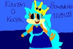 Karen O Koopa Bowsette Style (brittany8895) Tags: karen o koopa 2018 october pixelart oc drawings fanart bowsette