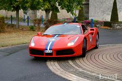 20181007 - Ferrari 488 GTB - S(3999) - CARS AND COFFEE CENTRE - Chateau de Longue Plaine (Lhermet Photographie) Tags: chateaudelongueplaine domainedelongueplaine ferrari ferrari488gtb sel18105f4 sonya6000 sony sonyilce6000
