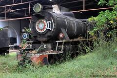 I_B_IMG_0567 (florian_grupp) Tags: asia myanmar burma train railway railroad myanmarailways southeast metergauge metregauge 1000mm steam locomotive scrap yard vulcan foundry pyuntaza