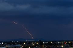 un rayo en el horizonte (guilletho) Tags: thunder thunderstrike thunderstorm rayo landscape nature sky storm canon mexico paisaje cielo clouds