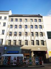 Brunnenstraße 10 (Berliner1963) Tags: rosenthalerplatz ubahnhof jeanremyvonmatt architecture architektur artwork kunstwerk fassade house haus mitte berlin germany deutschland