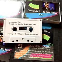 Azuresands大麻 - Creativity in the Workplace Part 1 - second anniversary, remastered cassette! (MOONFLUX) Tags: vaporwave retro art design vapor aesthetics aesthetic vhs cassete digital internet