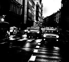 Photo (BadSoull) Tags: streetphoto 2018 nikon dslr d5100 prague europe trip photowalk car transport blackandwhite bnw