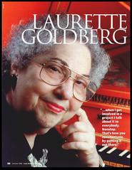 Laurette Goldberg : Early Music America : 2000 (jimhairphoto) Tags: laurettegoldberg harpsichord teacher musician berkeley california 2000 hasselblad 120 fuji reala film earlymusicamerica magazine jimhairphoto