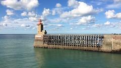 (roseline2fr) Tags: port lighthouse phare normandie