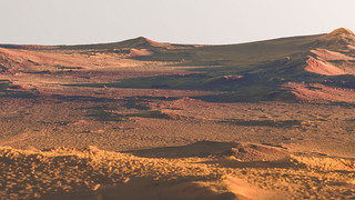 Syrtis Major Terrain on Mars