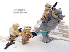 Echo Base Outer Fringe 9 (Rubblemaker) Tags: moc lego starwars star wars toys building blocks atat hoth