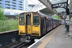 Great Northern 313038 (Will Swain) Tags: station 24th may 2018 drayton park class 313 london greater city centre capital south train trains rail railway railways transport travel uk britain vehicle vehicles england english north great northern 313038 038 38