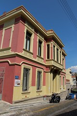 Poulidou Street, Kavala (demeeschter) Tags: greece macedonia kavala city town building street museum archaeological heritage historical harbour castle kastro mosque imaret boat sea restaurant shop church muhammad ali pasha aqueduct tobacco industrial