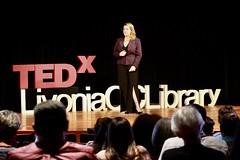 Megan Fuciarelli (TEDxLivoniaCCLibrary) Tags: tedxlivoniacclibrary tedx livonia shaunroberts 2018