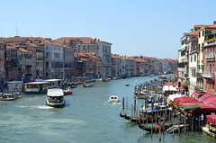 Grand Canal - Venice (Saf') Tags: grand canal venice venise venezia italia italy italie veneto vénétie lagoon lagune venetian rialto bridge