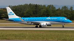 Embraer ERJ-175STD PH-EXI KLM Cityhopper (William Musculus) Tags: airport spotting basel mulhouse freiburg euroairport flughafen eap bsl mlh lfsb phexi klm cityhopper embraer erj175std erj170200 kl klc wa