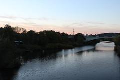 Sonnenuntergang an der Ruhr (Las Cuentas) Tags: wasser water river fluss landscape canon eos 4000d ruhr nrw sonnenuntergang trees landschaft abend evening