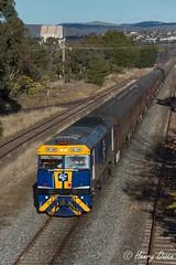 Last Return (Henry's Railway Gallery) Tags: gl112 glclass ge diesel goninan heritagetrain thnsw transportheritagensw passengertrain 6l77 canberra