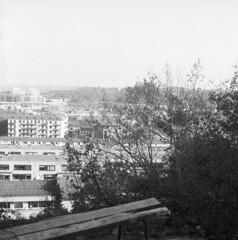 nice view (rotabaga) Tags: sverige sweden svartvitt göteborg gothenburg blackandwhite bw bwfp mediumformat mellanformat 120 6x6 fomapan lomo lomography lubitel166 twinlens diy