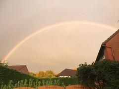 "A magnificent rainbow!! (MWBee) Tags: mwbee rainbow ""iphone7"" iphone runcorn"
