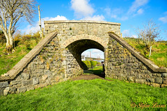 Dry Arch Straboy Glenties (Salmix_ie) Tags: straboy glenties county donegal ireland railway bridge dry arch river nikon nikkor d500 october 2018 sunny blue skies stones