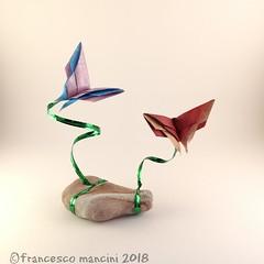 Butterfly (mancinerie) Tags: origami papiroflexia paperfolding papierfalten francescomancini mancinerie butterfly paper carta