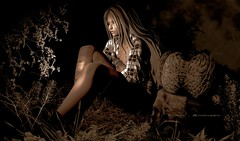 Loneliness (curly_swansen) Tags: piercing posessl people night sexyfemale secondlifeevent event earssl bentohead bentobody bento meshhead meshbody head secondlifecom catwa appliers skins newbeard hairbases hair clothes maitreya female poses mesh inworld marketplace secondlifeblog slblog photography highheels rings eyes picture slpicture secondlifephotography secondlifefashion fashion lara blonde jewelry nails couple lelutka secondlife glasses earrings bracelet avatar avataraccessories necklace makeup animations apparel gloves belts avatarshape tattoo bodyjewelrey sunset autumn
