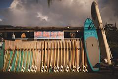 Oahu north shore (RollingSwell) Tags: northshoresurfshop sup surfer stormclouds surfboard northshore oahu