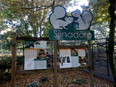 born_075 (OurTravelPics.com) Tags: born sign sjinadörp explanation pallass squirrel kasteelpark zoo