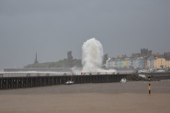 callum-7749 (www.atgof.co) Tags: storm callum aberystwyth wave jetty sea rough