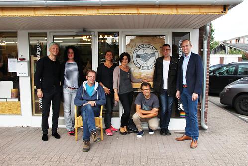 Besuch des Repaircafés Oldenburg in Donnerschwee.