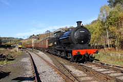 Ex-LNER J27 65894 - NYMR - 2018-10-24 (BillyGoat75) Tags: exlner 65894 steamengine locomotive heritagerailway levishamstation levisham northyorkshire northyorkshiremoorsrailway