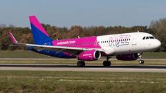 Airbus A320-232(WL) HA-LYQ Wizz Air (William Musculus) Tags: airport spotting basel mulhouse freiburg bsl eap mlh lfsb euroairport flughafen halyq wizz air airbus a320232wl wizzair wzz w6 a320200