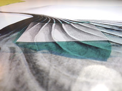 Following the lines (Mónica Leitão Mota) Tags: screen printing fibreart