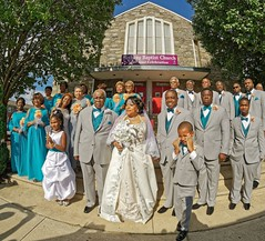 Harris Wedding Vow Renewal (oscarpetefan) Tags: bethanybaptistchurch chester pennsylvania weddingvowrenewal family d500 nikon oscarpetefan wideangle prooptic8mmfisheye dxo11 on1pics on1photoraw