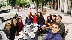 Desayuno antes de la entrevista en Ulia #burugabe #desayuno #diseñografico