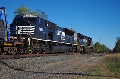 NS 7226 (Fan-T) Tags: hudson sd70ace sd80mac ns norfolk southern 7226