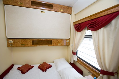Private Rail Cars on the Trans-Siberian Railway