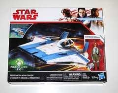 resistance a-wing fighter with resistance pilot tallie star wars the last jedi force link 2.0 vehicle with basic action figure 2017 hasbro misb a (tjparkside) Tags: resistance awing wing fighter pilot tallie star wars last jedi force link 20 vehicle vehicles basic action figure figures episode viii 8 eight tlj hasbro 2017 disney fighters pilots starfighter rebellion empire twin engine engines missile projectile missiles projectiles firing blaster pistol landing gear rey finn poe dameron