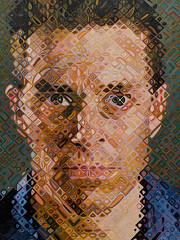 Chuck Close - Portraits (Joey Hinton) Tags: sanfrancisco california unitedstates chuck close musuem modern art google pixel2 andriod smartphone cellphone cameraphone phone