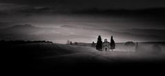 Retrospective Vitaleta (Beppe Rijs) Tags: 2018 italien juli sommer toskana italy july summer tuscany bw black white sw schwarz weiss